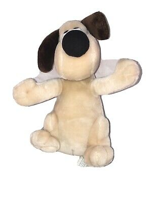 Vtg 1989 Wallace & Gromit Born to Play Aardman Animations Plush Dog 10""