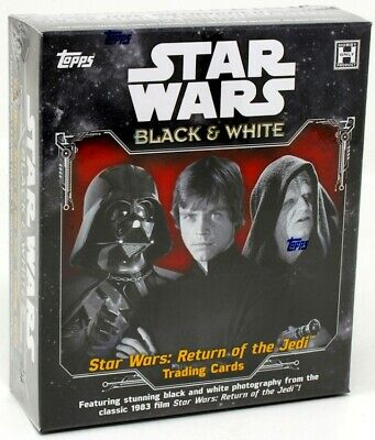 2020 Topps Star Wars Return Of The Jedi Black & White Hobby Box Blowout Cards