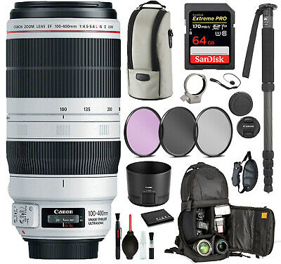 Canon EF 100-400mm f/4.5-5.6L IS II USM Lens (9524B002)  with Professional