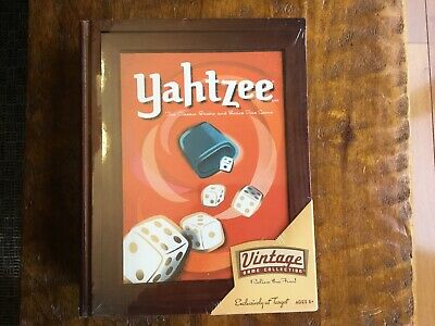 Vintage Game Collection Yahtzee New Seal Package