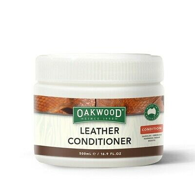 Oakwood Leather Conditioner 500ml - ALL Leather goods, Oil Restoration
