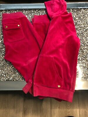 Girls Juicy Couture Tracksuit Age 8 Great Condidtion