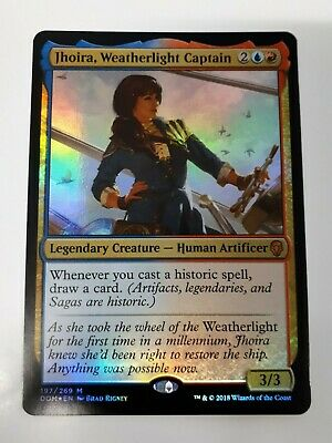 JHOIRA WEATHERLIGHT CAPTAIN Dominaria MTG Gold Creature—Human Mythic Rare
