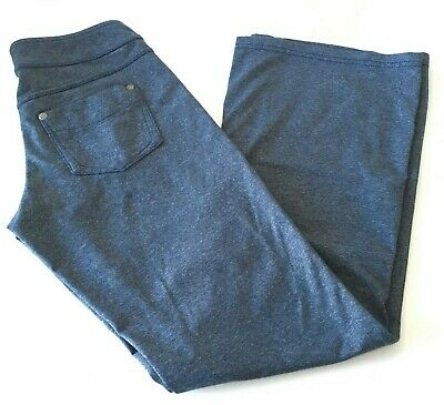 Athleta Classic Bettona Pants XXSP XXS P Petite #819227 Blue Heathered