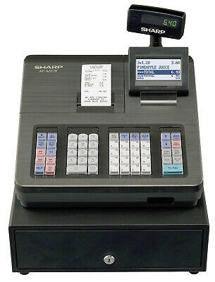 Sharp XE-A207 Cash Register Black Till