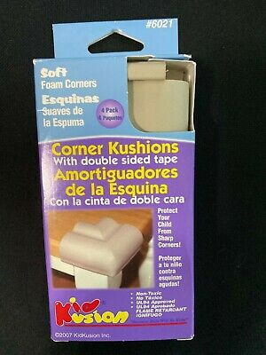 Corner Kushions by Kid Kusion With Double sided Tape