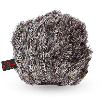 Vivitar Furry Outdoor Mic Windscreen Muff for Microphones and Recorders