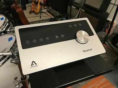 Apogee Quartet USB Audio Interface - Power Supply and Cable Included