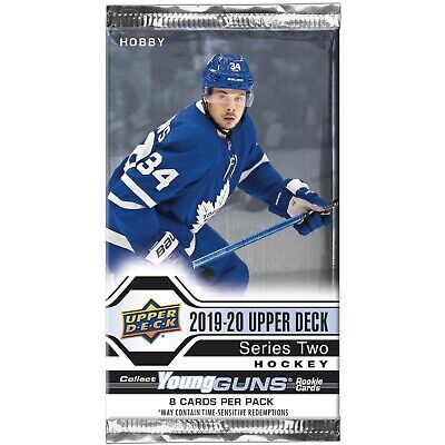 2019-20 Upper Deck Hockey Young Guns Series 2 - U Pick