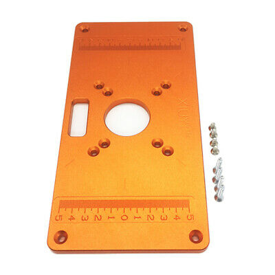 Universal Router Table Insert Plate For Woodworking Trimming Engraving Machine