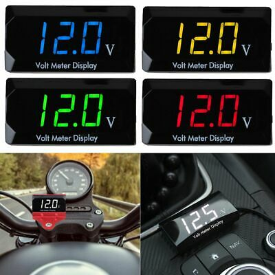 Mini LED 3-Digital Display Volt Voltage Voltmeter Panel Accurate Meter 5-30V DC