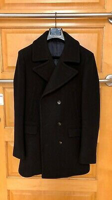Suitsupply Navy Pea coat 40R * 100% Wool * Excellent Condition*