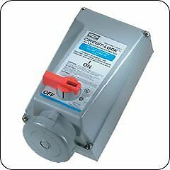 Hubbell HBL460MI7W Pin and Sleeve IEC Mechanically Interlocked Receptacle, 3