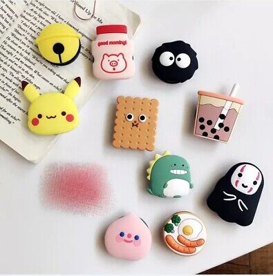 Universal 3D Cute Cartoon Pop Up Grip Stand Mobile Phone Ring Holder iPhone