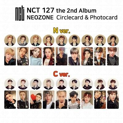 NCT127 2nd Album NCT #127 NEO ZONE Official Photocard Circle card KPOP K-POP