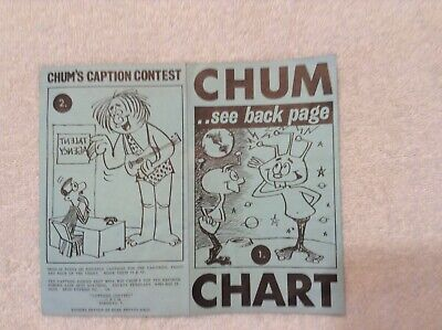 CHUM CHARTS (3)  - Sept.27th  and Nov. 15th 1965 &  Jan 17th 1966
