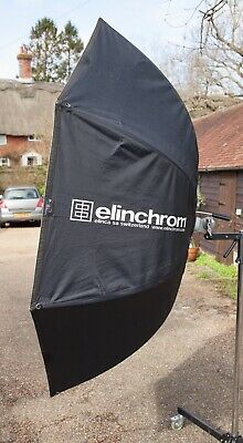 """Elinchrom """"Litebank"""" Indirect 190cm Octabox with Case.  Well Used Condition."""