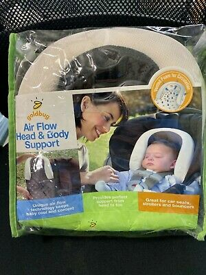 Goldbug Air Flow Baby Head and Body Support Pillow NEW
