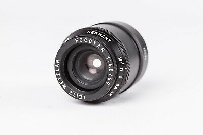 Leitz Wetzlar Focotar 50mm f4.5 Enlarging Lens with 17675 Tube.  Excellent Cond.