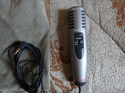 Sony ECM-MS907 Electret Condenser Microphone+cable+stand, 3.5mm Plug