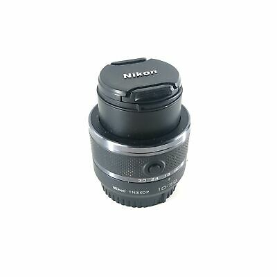 Nikon 1 NIKKOR 10-30mm f/3.5-5.6 VR Zoom Lens Black DSLR Camera