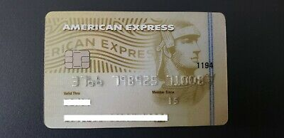 Mexico - American Express - Expired - Credit Card - Gold - Wth Chip