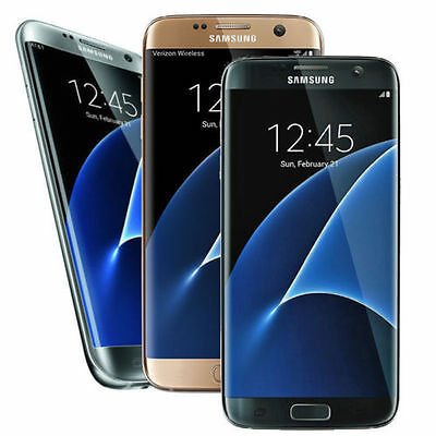 Samsung Galaxy S7 Edge G935A SM-G935A AT&T Factory Unlocked 32GB GSM Smartphone