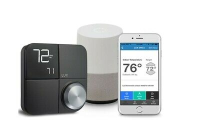 Lux Kono Smart Thermostat Works with Amazon Alexa and Apple HomeKit