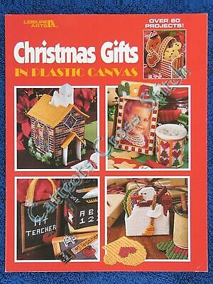 Christmas Gifts Plastic Canvas & Cross Stitch Patterns Ornaments Over 60 Designs