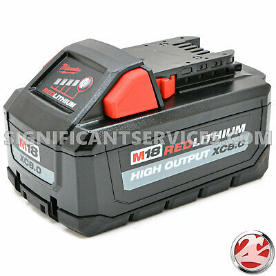 Milwaukee 48-11-1880 M18 Red Lithium 8.0 Ah XC Li-Ion High Output Battery Pack