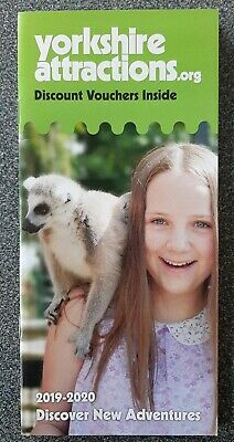 Yorkshire Attractions Discount Vouchers Booklet 2019/20 flamingo land harewood