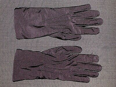 Aris Black 20022 Nylon Lined Driving Gloves Women's One Size Os