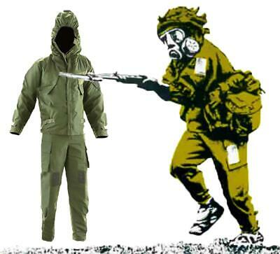 Mk4 NBC CBRN Nuclear Biological Chemical Suit, Gloves and Overboots Olive Green