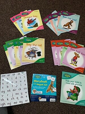 Oxford Read Write Inc Phonics. Storybook And Magnet Set. 18 Books. Ruth Miskin