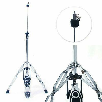 "14"" cymbal Drum Stand Adjustable Hi-Hat Cymbal Drum Stand Hardware w/Pedal"