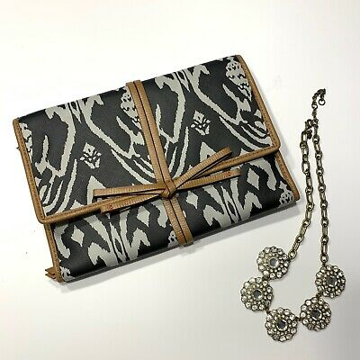Stella and Dot Jewelry Organized Bring Your Bling Travel Case Holder NWOT