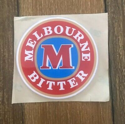 Melbourne Bitter Tap Badge, Decal, Top