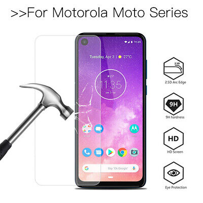 For Motorola Moto G7 Play G8 One Action E6 Tempered Glass Screen Protector Saver