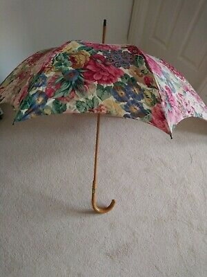 "Vintage ""Sanderson Collection"" Floral parasol"