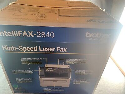 Brother IntelliFax-2840 High-Speed Laser Fax New In Box