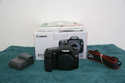 Canon Eos 30D With Box Manuals Documents