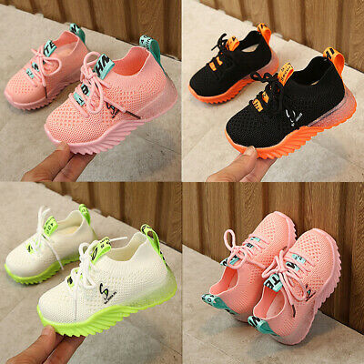 Baby Boys Girls Fashion Running Shoes Kids Athletic Sneakers Casual Sports Shoes