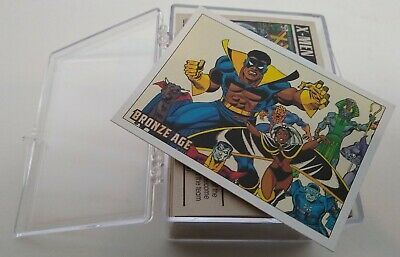 2012 Marvel Bronze Age Trading Cards (Rittenhouse) Complete Base Set 1-81 !