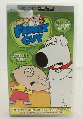 Family Guy The Freaking Sweet Collection UMD Movie CIB Complete