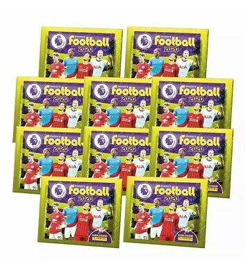 NEW! Panini Football 2020 Premier League Sticker Collection 10 X Packs Sealed