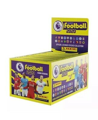 NEW! Panini Football 2020 Premier League Sticker Collection 40 X Packs Sealed