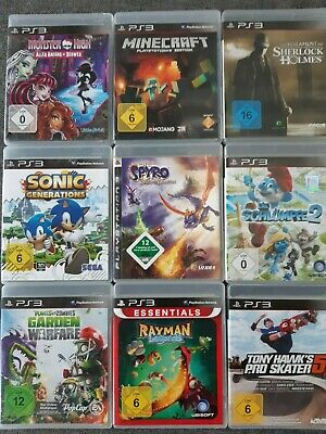 Die besten Playstation 3 Spiele (Ps3), Sonic, Rayman, Sims, Need for Speed,