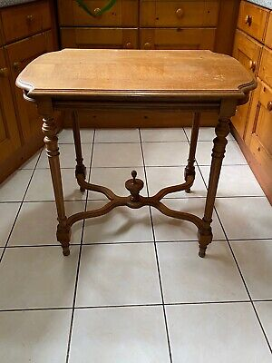 Antique Oak French Side Table