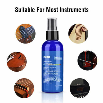 100ml Wooden Instrument Cleaner Guitar Fretboard Cleaner Piano Cleaner Tool NEW
