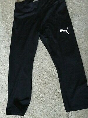 Puma girls 3/4 tight. Age 13/14. New.